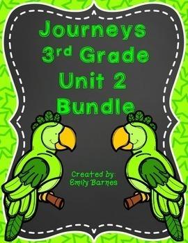 Journeys 3rd Grade Unit 2 Bundle