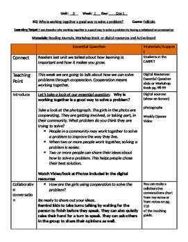 Unit 2 Bundle Lesson Plans- Wonders Reading 3rd Grade Weeks 1-5