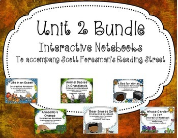 Unit 2 Bundle Interactive Notebook Journal