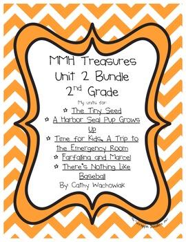 Unit 2 Bundle Treasures MMH 2nd Grade