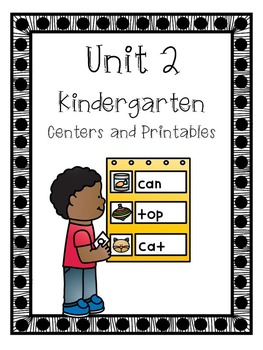 Unit 2, Centers and Printables, Kindergarten, Reading Street