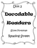 Unit 2 Decodable Readers Reading Street