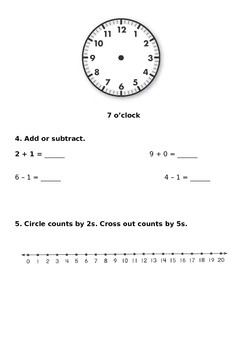 Unit 2 Everyday Math Review