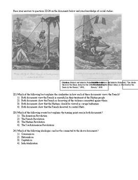 Unit 2 Exam-French Rev through South American Revolutions