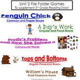Unit 2 File Folder Games: 3rd Grade Reading Street (2007)