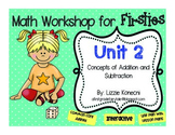 Unit 2- Addition and Subtraction Strategies for First Grade