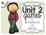 Unit 2 Games for Reading Wonders Grade 1
