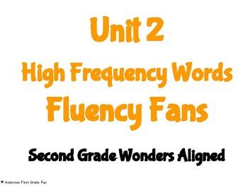 Unit 2 HFW Fluency Fans- Second Grade Wonders