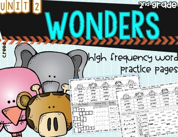 Unit 2 HFW Practice Reading Wonders {2nd Grade}