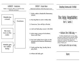 Unit 2 - HW Trifolds - Houghton Mifflin Journeys Spelling Words