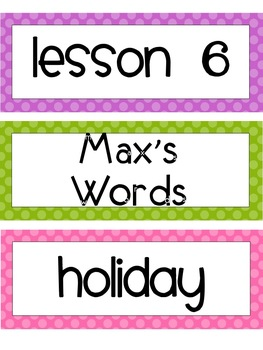 Unit 2:  Houghton Mifflin Journeys Spelling Lessons 6-10 Grade 3