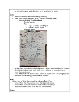 Unit 2 - Informational Writing - Grade 2