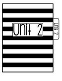 Unit 2 Interactive Notebook Tab