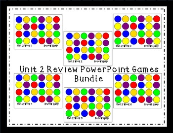 Unit 2 Interactive Review Games for Smart Notebook. Reading Street. First Grade.