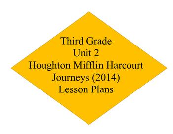 Unit 2 Journey's Lesson Plans 6-10
