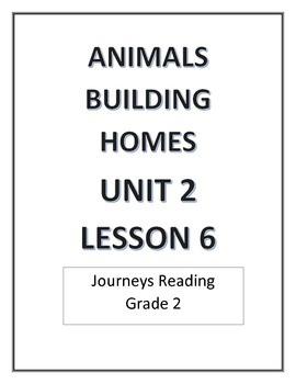 Unit 2 Journeys Second grade Bundle