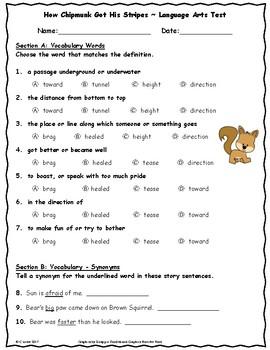 Unit 2 Language Arts Tests Bundle ~ 2nd Grade ~ Journeys ~ Super Storms, etc.
