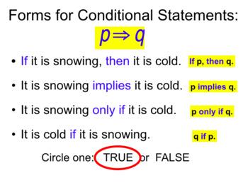 Unit 2 Lesson 1: Conditional Statements