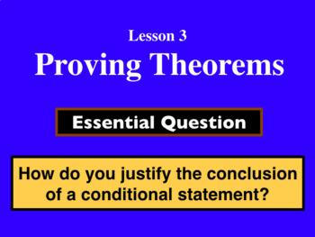 Unit 2 Lesson 3: Proving Theorems