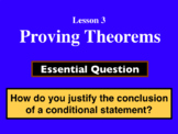 Unit 2 Lesson 3: Proving Theorems presentation