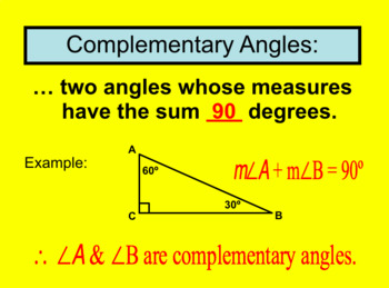 Unit 2 Lesson 4: Special Pairs of Angles