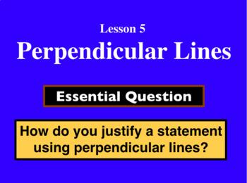 Unit 2 Lesson 5: Perpendicular Lines