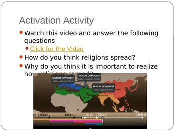 Unit 2: Lesson 5: Religions of Europe PowerPoint