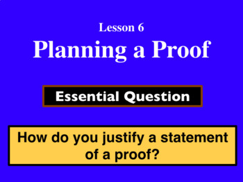 Unit 2 Lesson 6: Planning a Proof