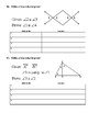 Unit 2 Lesson 6: Planning a Proof Worksheet