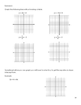 Unit 2 - Linear Functions (Lessons)
