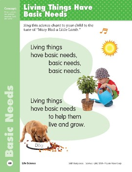 Unit 2: Living Things Have Basic Needs (Skill Sharpeners: Science)