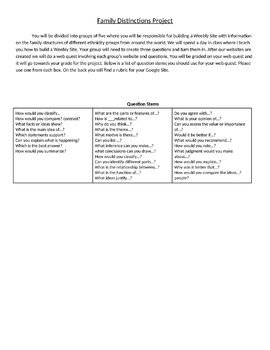 Unit 2 - Marriage and Family Bundle