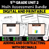 Unit 2 Math Resources - 5th Grade - Decimals