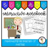 Measuring Properties of Matter (1st Grade Notebook)