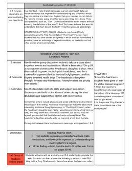 Unit 2 Module A Lesson 16 ReadyGEN Grade 3 The Frog Princess