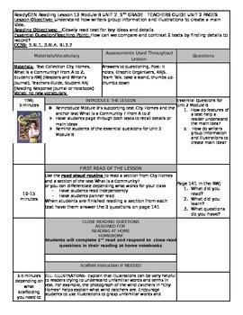 Unit 2 Module B Lesson 12 Grade 3  ReadyGEN What is a Comm