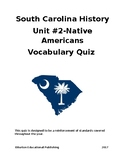 Unit 2-Native Americans Vocabulary Quiz