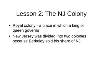 Unit 2 New Jersey Harcourt Series Notes