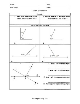 Unit 2 - One-Variable Equations and Inequalities-Worksheets-7th Grade Math TEKS