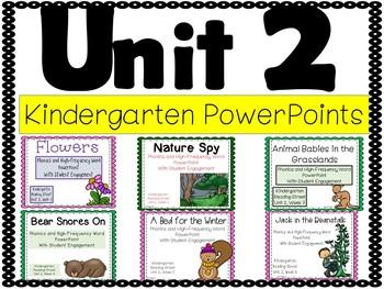 Unit 2, PowerPoints, Kindergarten, Reading Street