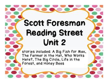 Unit 2 Reading Street