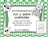 Unit 2 Reading Street Craftivities Pt 1: 2.1, 2.2, 2.3
