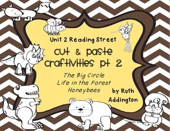Unit 2 Reading Street Craftivities Pt 2: Stories 2.4, 2.5, 2.6