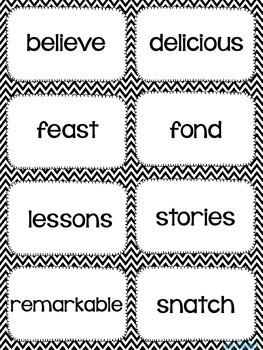 Unit 2 Reading Wonders Vocabulary Task Cards
