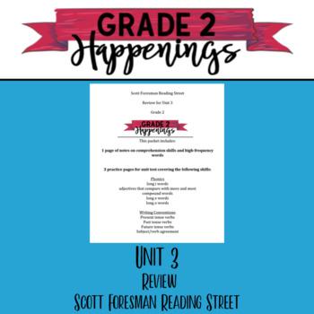 Unit 3 Review Reading Street Grade 2