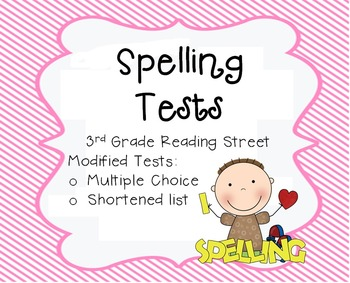 Unit 2 Spelling Test