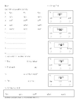 Unit 2 Spelling Tests