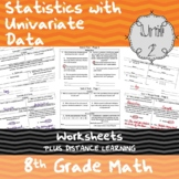 Unit 2 - Statistics with Univariate Data - Worksheets - 8th Grade Math TEKS