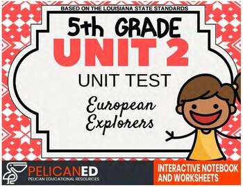 Unit 2 Unit Test - European Explorers by Social Studies ...