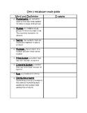 GoMath/Ready Multiplication Vocab Study Guide Unit 2